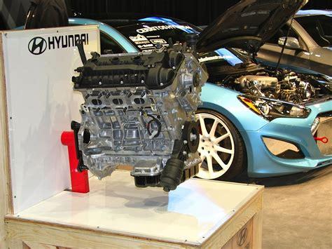 sema 2013 hyundai launches v6 turbo 4 crate engine