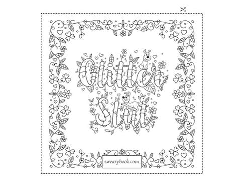 inappropriate coloring book pages this is a digital sweary coloring page of the