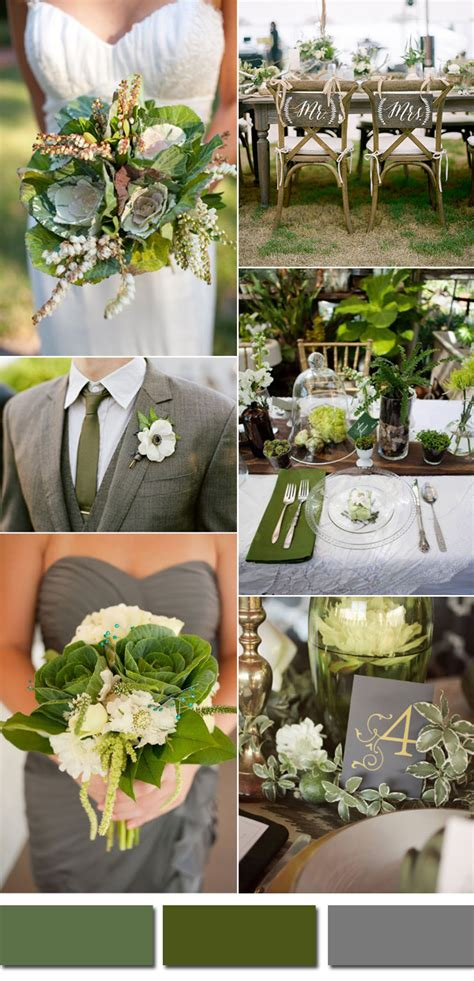green wedding colors kale green wedding color ideas for 2017 summer