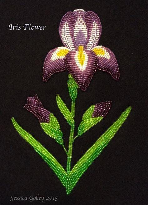 beadwork flowers floral beadwork by gokey ojibwe beadwork