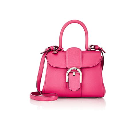 Handbag Delvaux Set Pouch Code 0 delvaux brillant mini sellier leather shoulder bag in pink lyst
