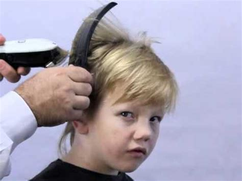 how to clipper cut s hair how to cut boys hair the new simple way using freestyla