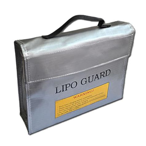 Generic Rc Lipo Battery Safety Guard Charge Bag 23 X 20cm Aa401 rc lipo safty bag lipo guard bag for charging large 235 65 180mm alex nld