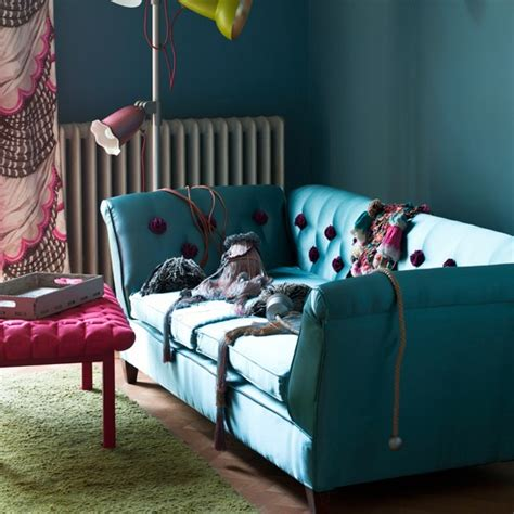 Living Room Turquoise Sofa Turquoise Living Room Colourful Living Room Design