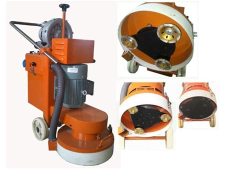 1500 RPM Concrete Floor Grinder 220V / 380V Epoxy Ground