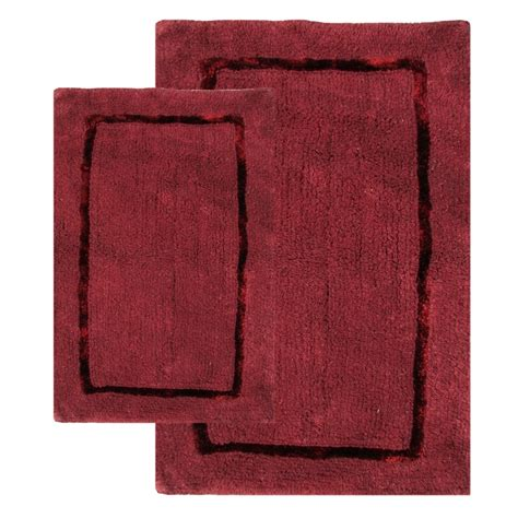 2 piece bathroom rug set 2 piece greenville bath rug set in port uvcm35200