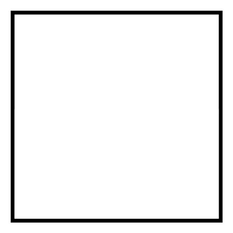 printable square shapes image gallery square shape