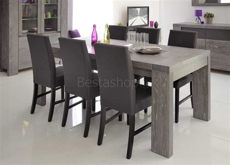 tables contemporaines salle manger enchanteur modele de salle a manger moderne avec peinture