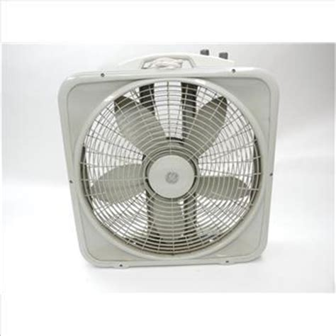 fan company thermostat ge box fan with thermostat property room