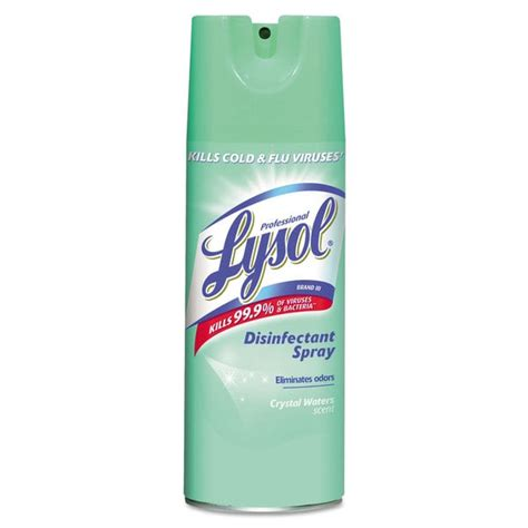 can i spray lysol on my couch professional lysol brand disinfectant spray crystal