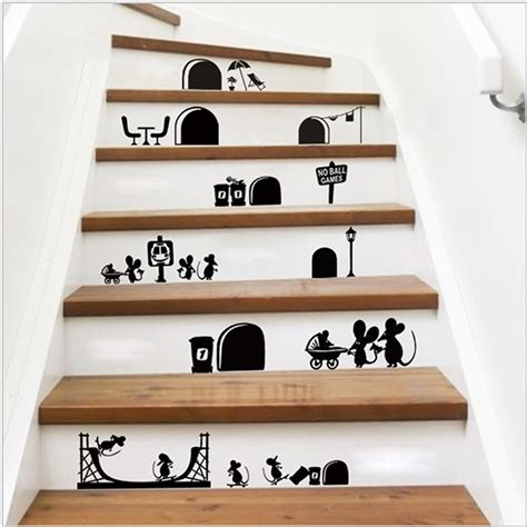 Paint By Number Wall Mural commentaires escalier stickers muraux faire des achats