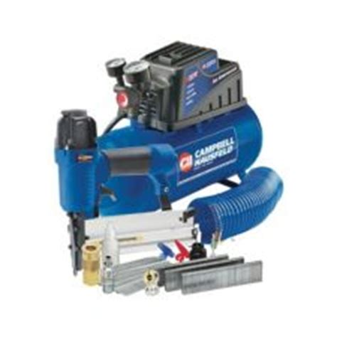 cbell hausfeld 3 gallon air compressor with 2 in 1 nailer canadian tire