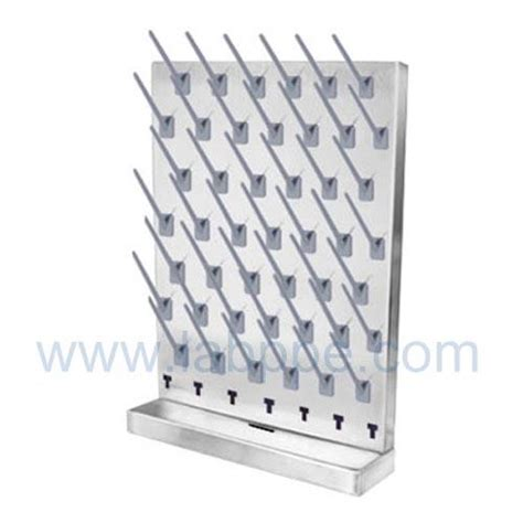 sh361a lab drying rack pegboard 52 pegs 550 700mm 52pegs