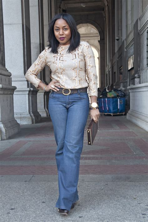 tracee ellis ross jeans this is how i rock sequins top high waisted jeans