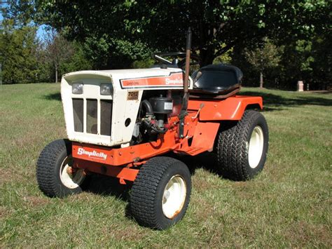 Simplicity Garden Tractors by High Quality Simplicity Garden Tractor 3 Allis Chalmers