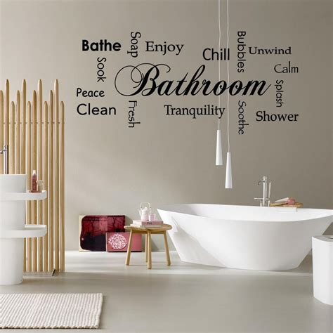 funny and original vinyl wall stickers for bathroom