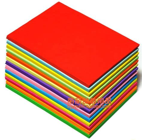 coloured wholesale free shipping wholesale 100pcs mixed color copy paper