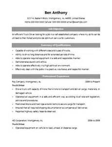 Haul Truck Driver Sle Resume by Cdl Class A Driver Resume Sales Driver Lewesmr