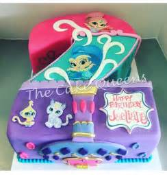 shimmer amp shine 2nd birthday cake yelp