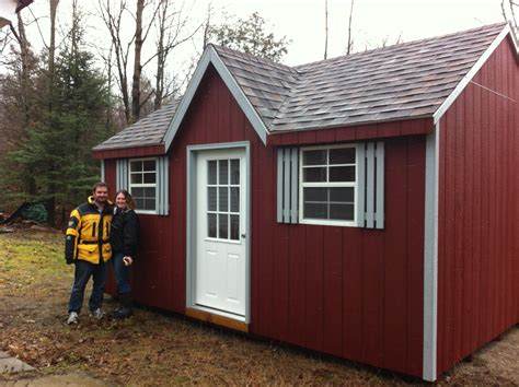 shed bunkie plans north country sheds