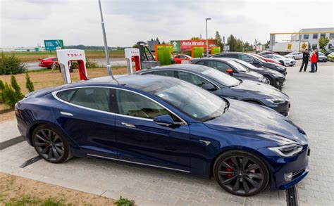 Supercharger Stations For Tesla Teslas Used For Commercial Purposes Like Uber Are No