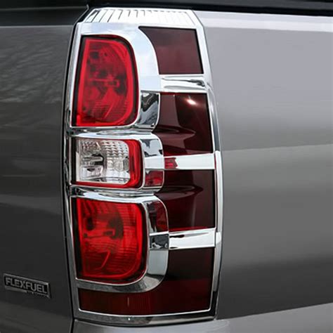 2007 chevy avalanche tail lights putco 174 400831 chevy avalanche 2007 2013 chrome tail
