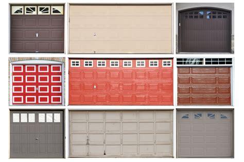 garage door type garage door type types of garage door visual ly front