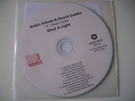Shed Discogs by Robin Schulz David Guetta Ft Codes Shed A Light