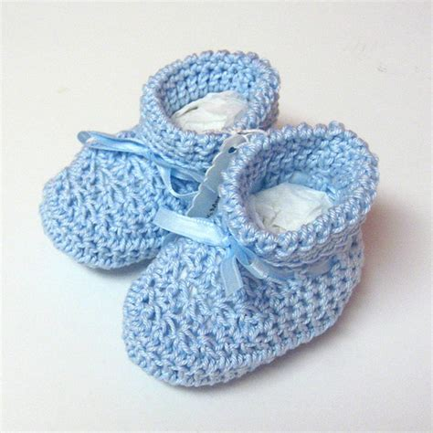 crochet pattern little blue baby booties crochet blue baby booties flickr photo sharing