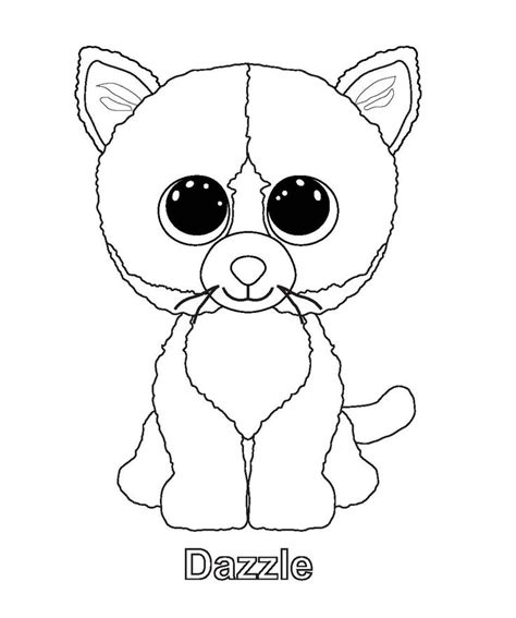 beanie babies coloring page 13 best images about coloring in on pinterest coloring