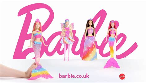 barbie rainbow lights mermaid doll smyths toys barbie rainbow lights mermaid doll youtube