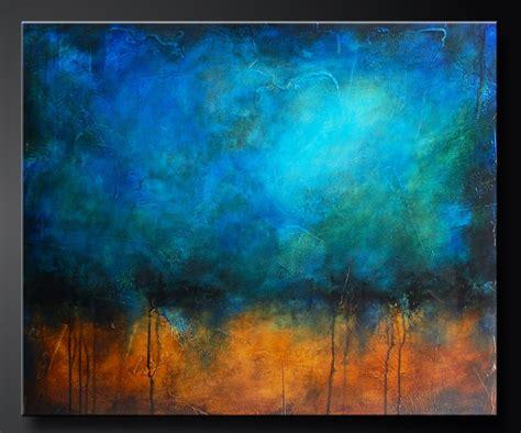 acrylic textured paintings caribbean sea 30 x 36 abstract acrylic painting