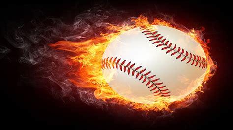 fire baseball images  hd wallpapers  desktop hd