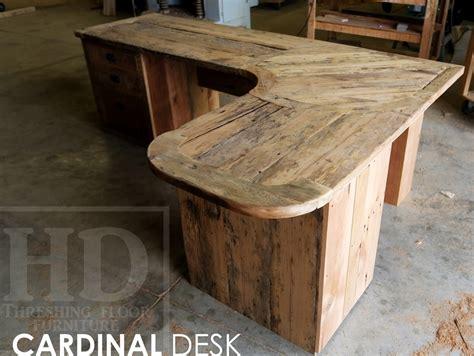 Barnwood Desk by Custom Reclaimed Wood Desk In Cornwall
