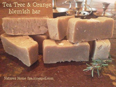 Yasira Spicy Bar Soap natures home spa tea tree and orange soap acne and blemish recipe