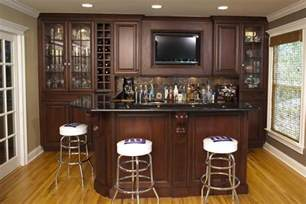 Home Bar Pics Custom Home Bars Design Line Kitchens In Sea Girt Nj