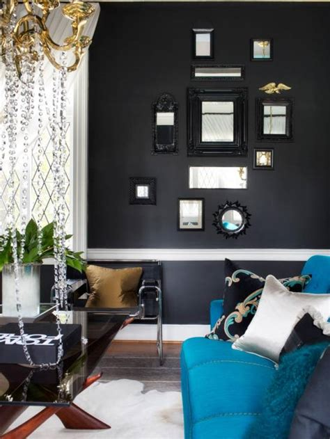 Decorating Room With Black Walls - 21 black wall living room ideas ultimate home ideas