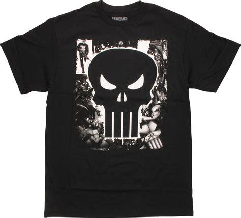 T Shirt Punisher Logo punisher logo panels t shirt