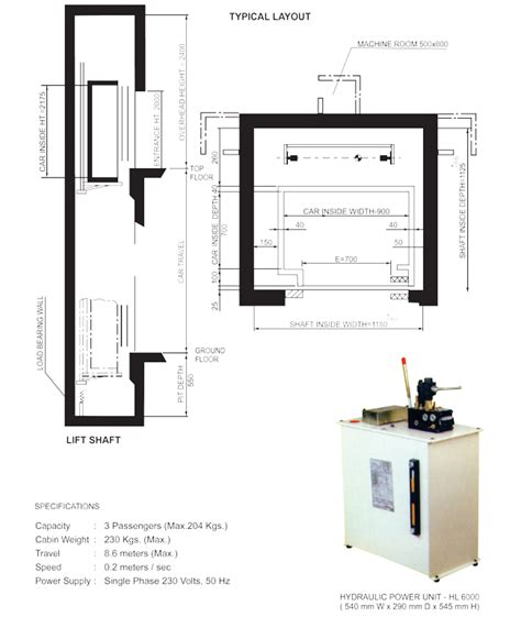 Small Home Elevator Size Traction And Hydraulic Elevators By Kinetic