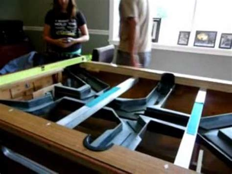 coin operated pool table tracks  slate  youtube