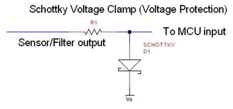 schottky diode voltage cling circuit schottky diodes voltage 28 images shottky suppression diodes bat43 schottky diode 200ma 30v