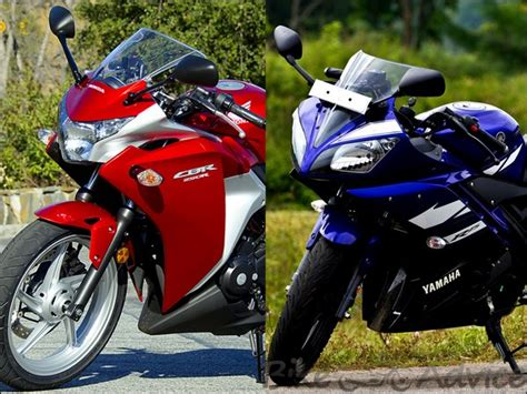 yamaha cbr bike price honda cbr250r vs yamaha r15 v 2 0 bike comparison