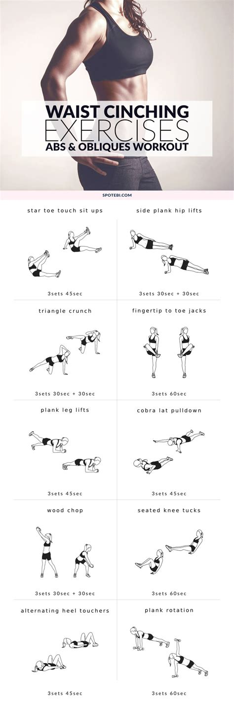 exercises for abs and obliques workout