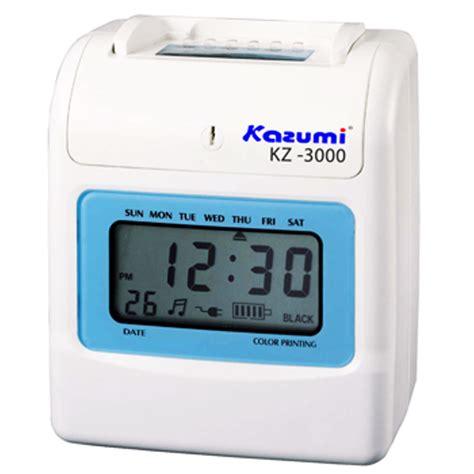 Mesin Amano kazumi kz 3300 time recorder