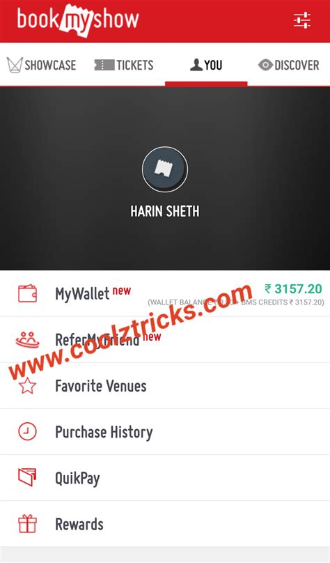 bookmyshow the script boom bookmyshow refer earn rs 100 per every refer