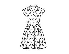 dress coloring pages pinup dress coloring page coloringcrew