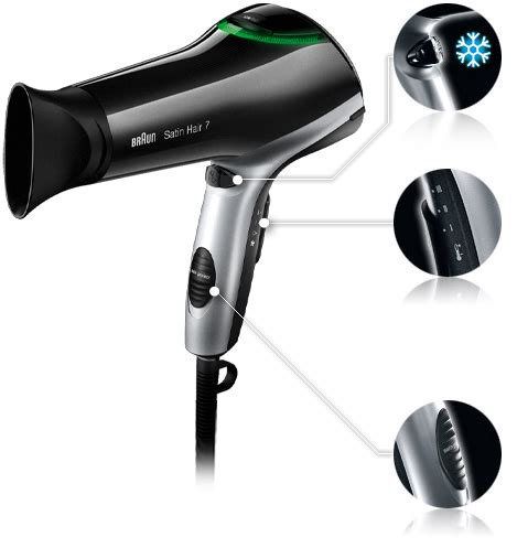 Is Braun Hair Dryer satin hair 7 dryer braun