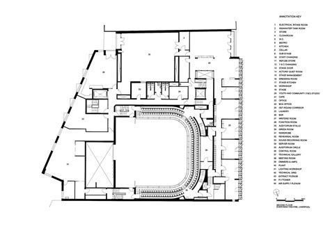 theatre floor plan gallery of everyman theatre haworth tompkins 18