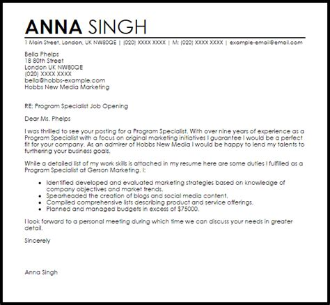 Employment Consultant Cover Letter – Sample Cover Letter: Sample Cover Letter To Recruitment Agency