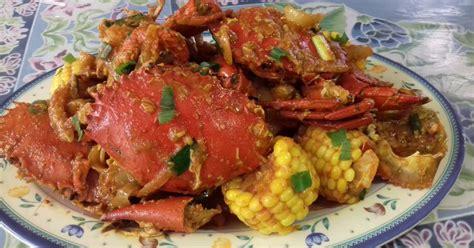 resep kepiting saos padang enak  sederhana cookpad
